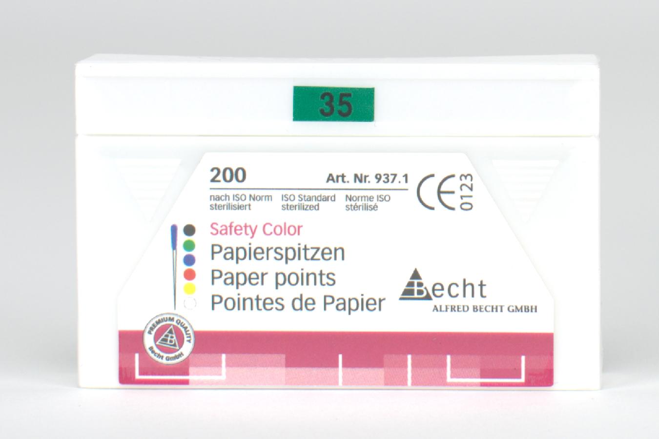Papierspitzen 937 Safety C 35 200 Stück