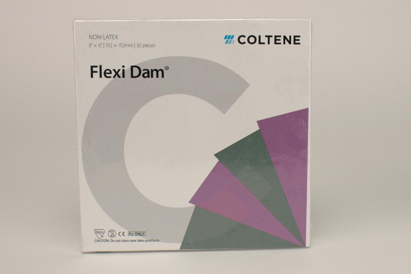Flexidam 152x152mm Non-Latex lila 30St