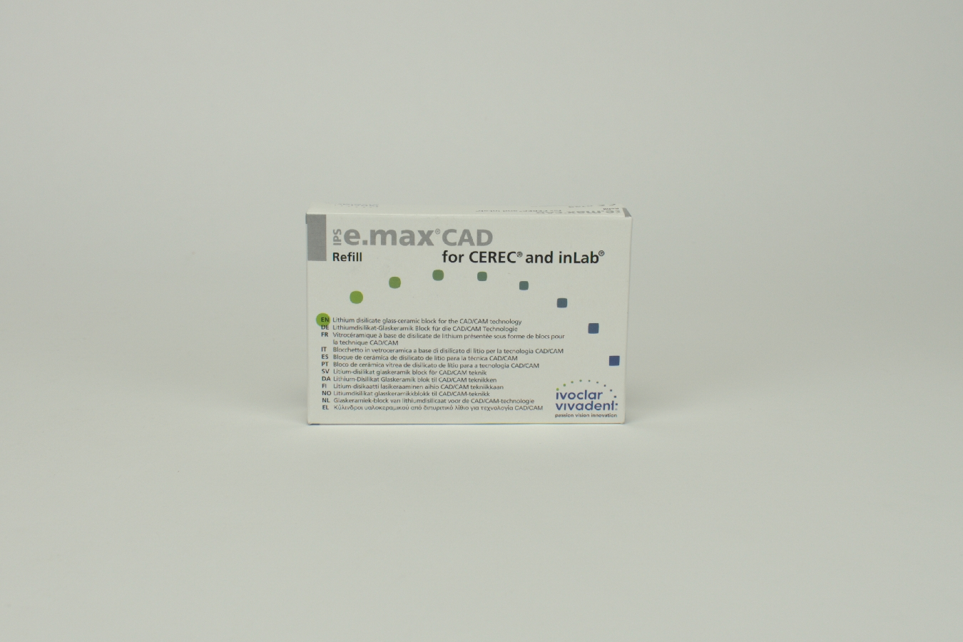 IPS e.max CAD Cer/inLab HT A3,5 C14 5 Stück