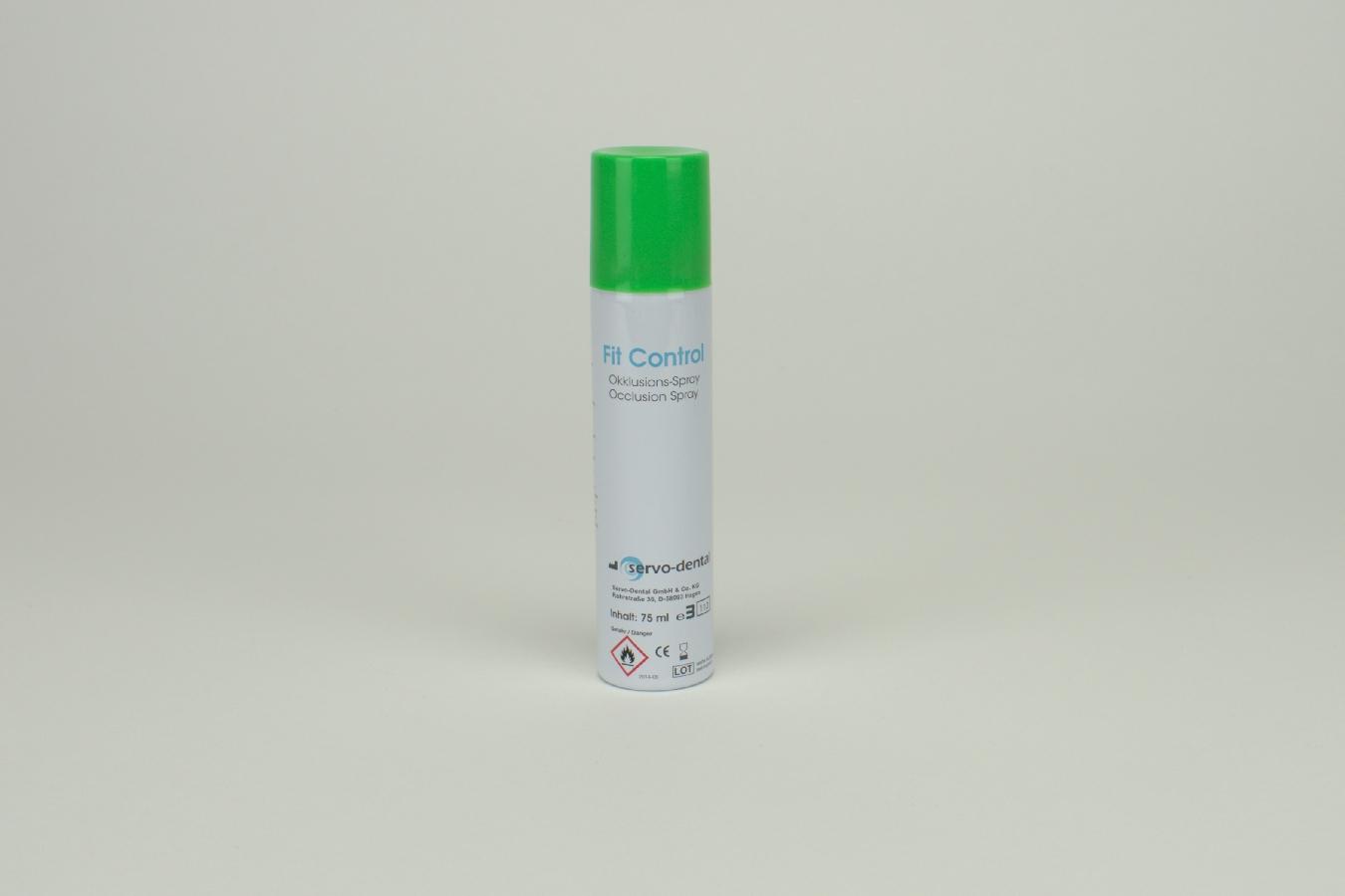 Praxisbedarf Okklusionsspray grün 75ml Dose