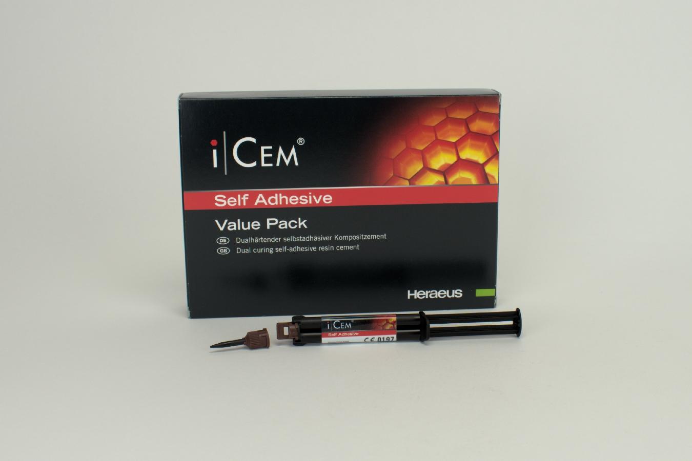 iCEM Self Adhesive 3x7g Spr Value Pa