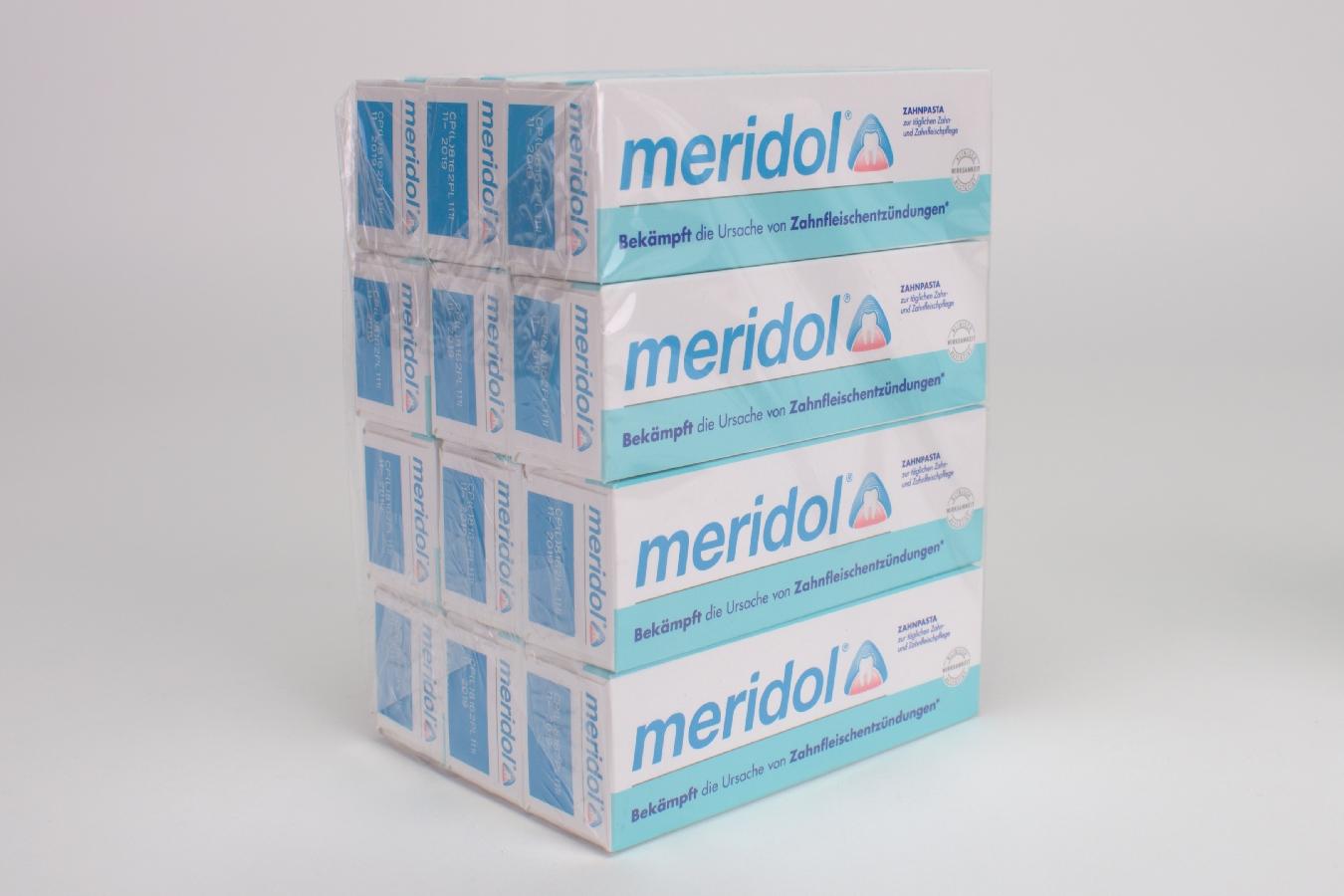 Meridol Zahnpasta 12x20ml