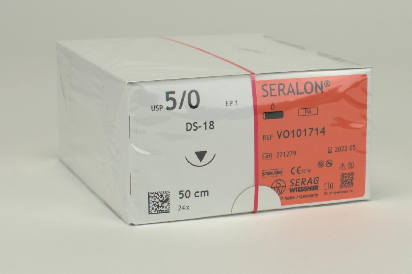Seralon blau Dose-18 5/0-EP1 2Dtz
