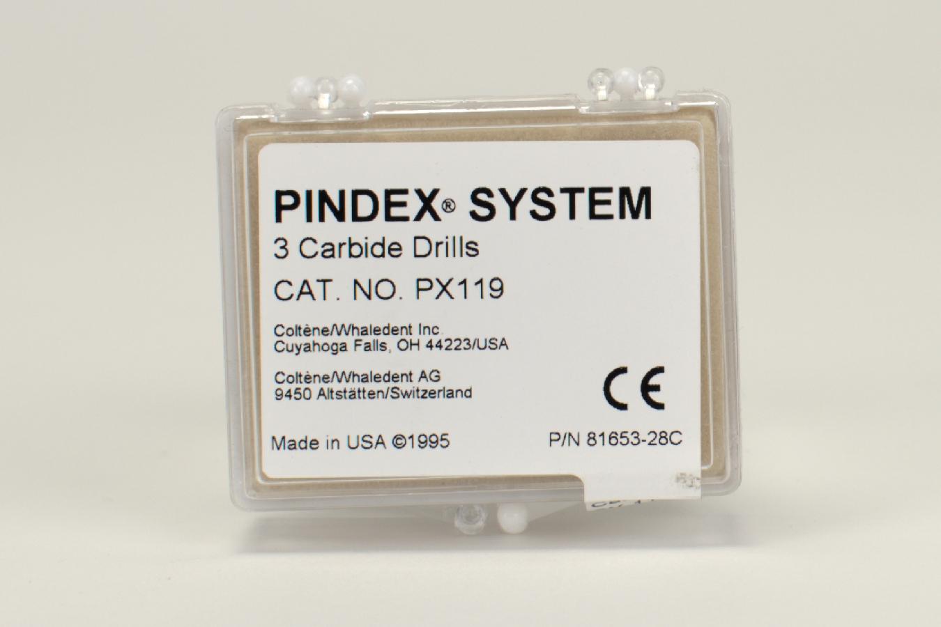 Pindex Karbid-Bohrer PX119 3 Stück