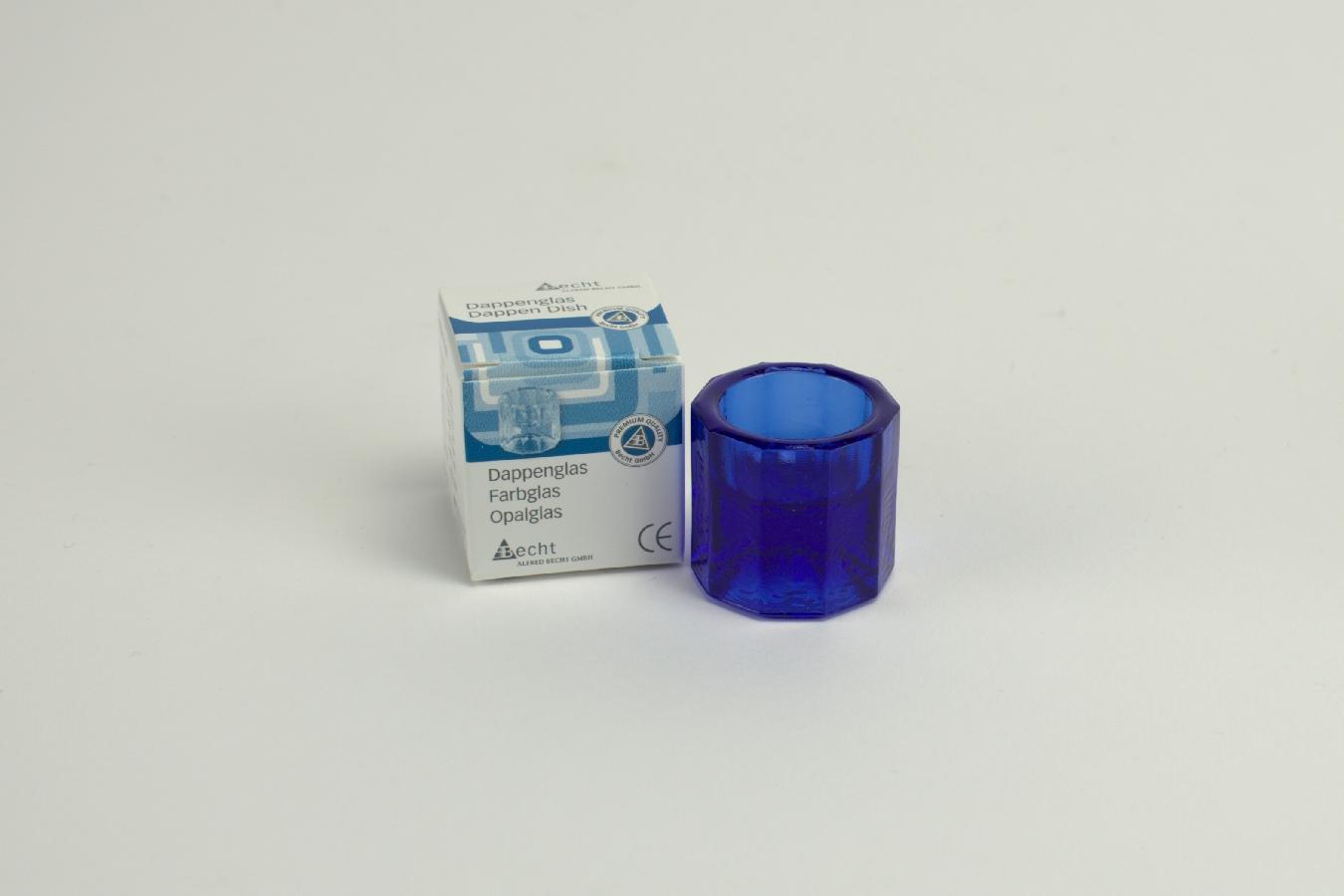 Dappenglas 787 blau St