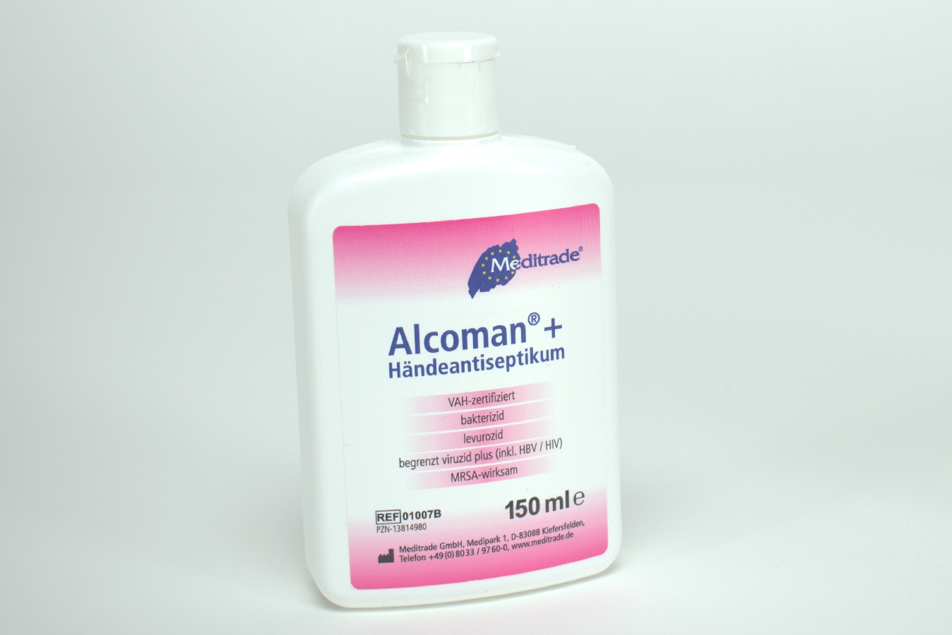 Alcoman+ Händedesinfektion  150ml