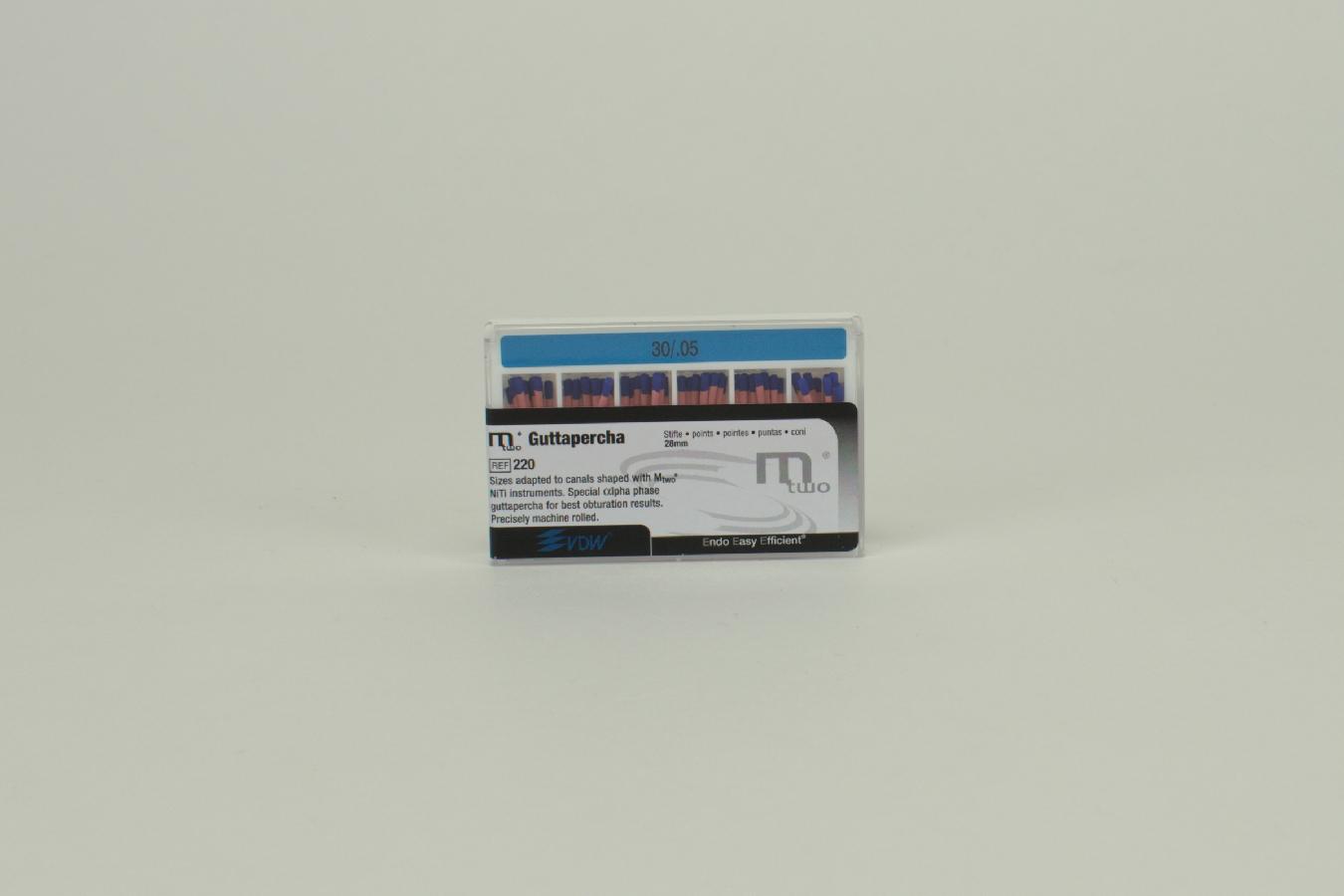 MTWO Guttaperchastifte 30/.05 60 Stück