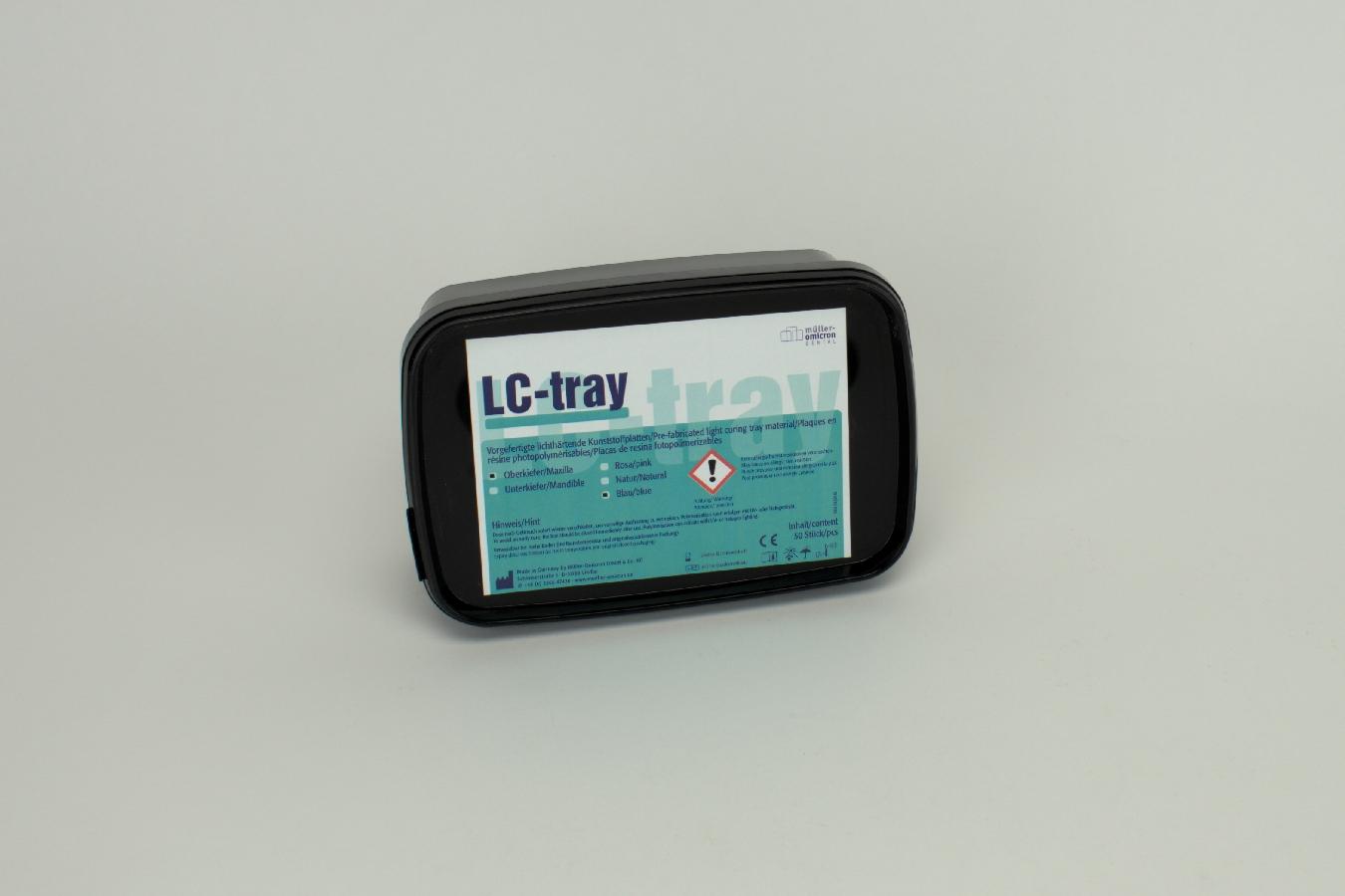 LC-Tray OK blau  50 Stück