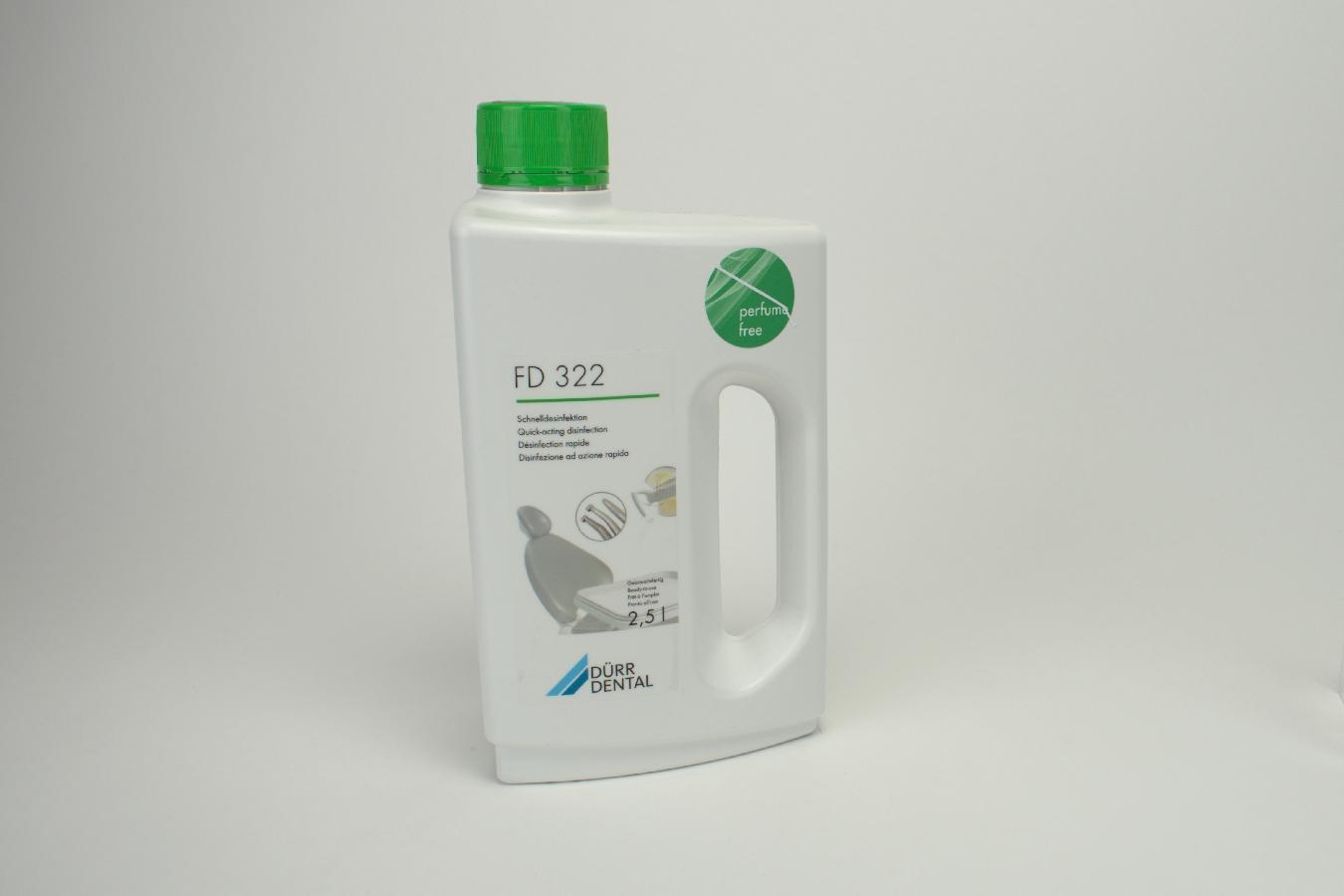 FD 322 Schnelldesinfektionsmittel pafrümfrei 2,5ltr