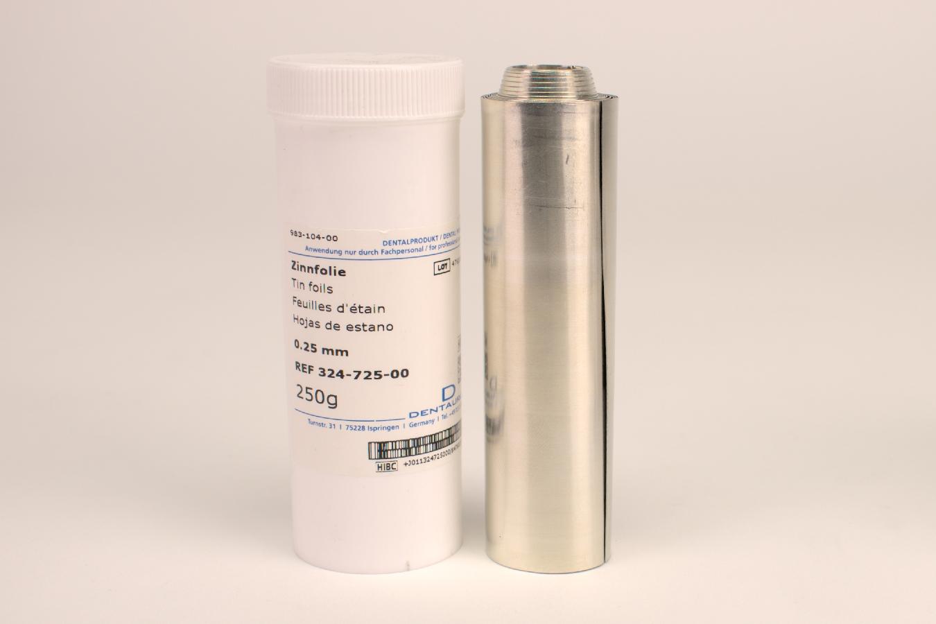 Zinnfolie 0,25mm 250G