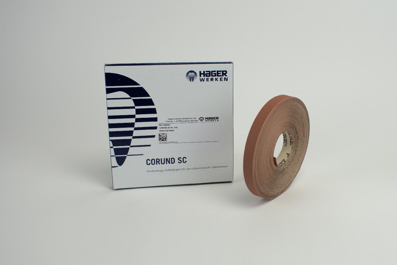 Corundpapier Kö 220 SC  50Mtr Rl