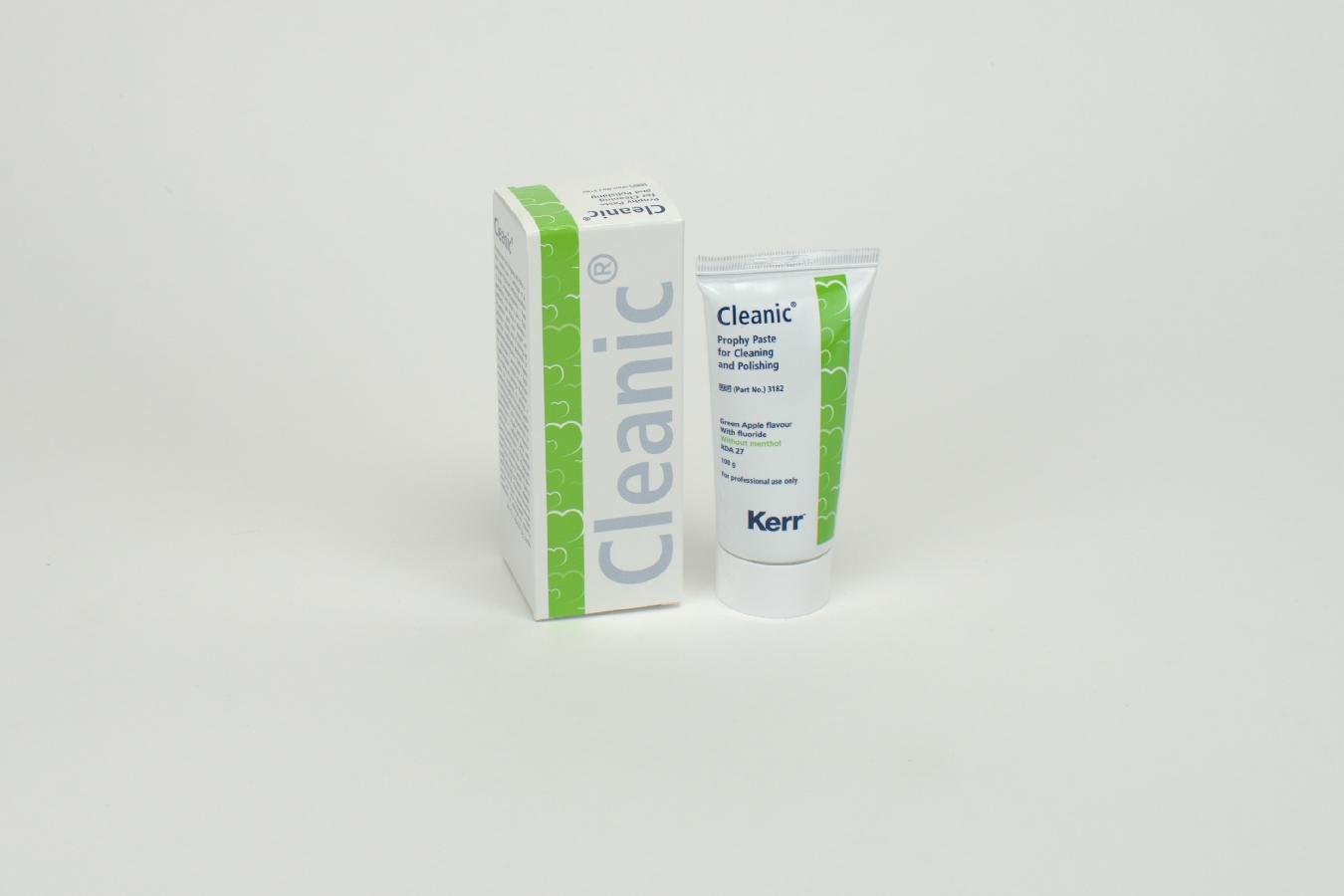 Cleanic m. Fluorid Green Apple 100g Tb