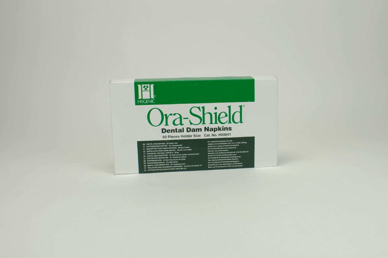 Ora-Shield Kofferdam Serv.groß 50 Stück