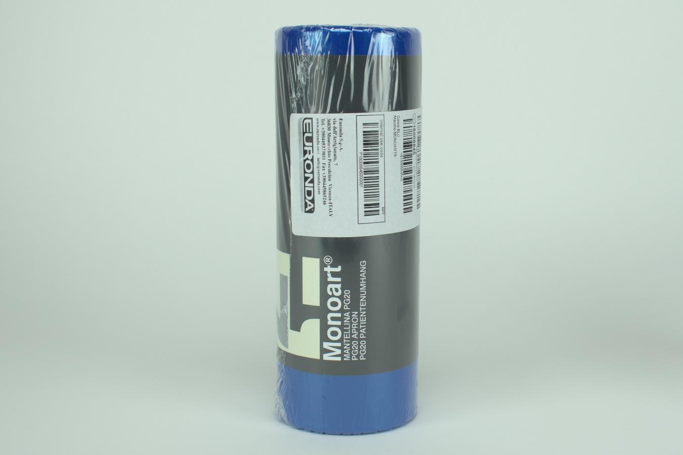 MONOART Umhang Kusto 75,3x53 blau 200St