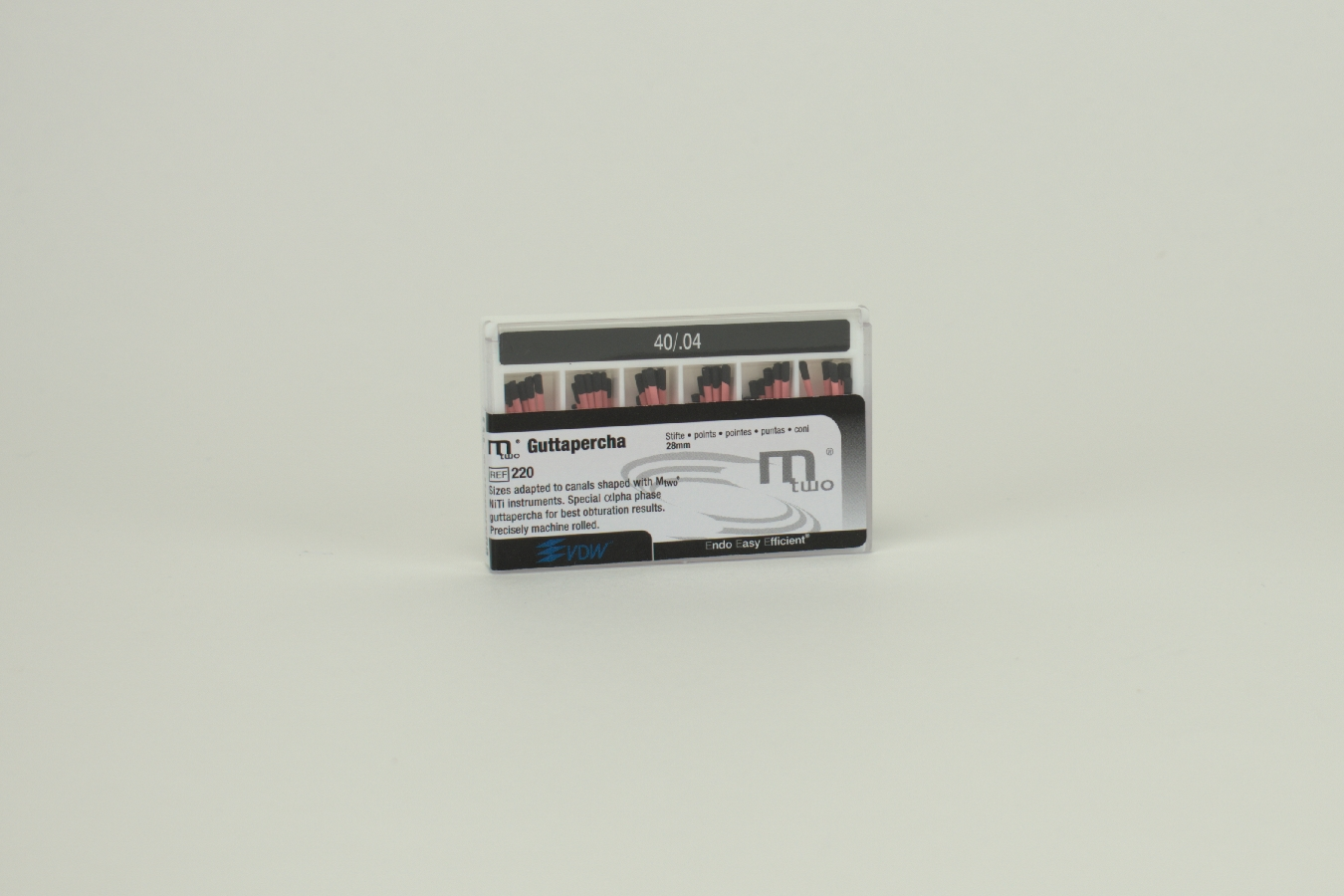 MTWO Guttaperchastifte 40/.04 60 Stück