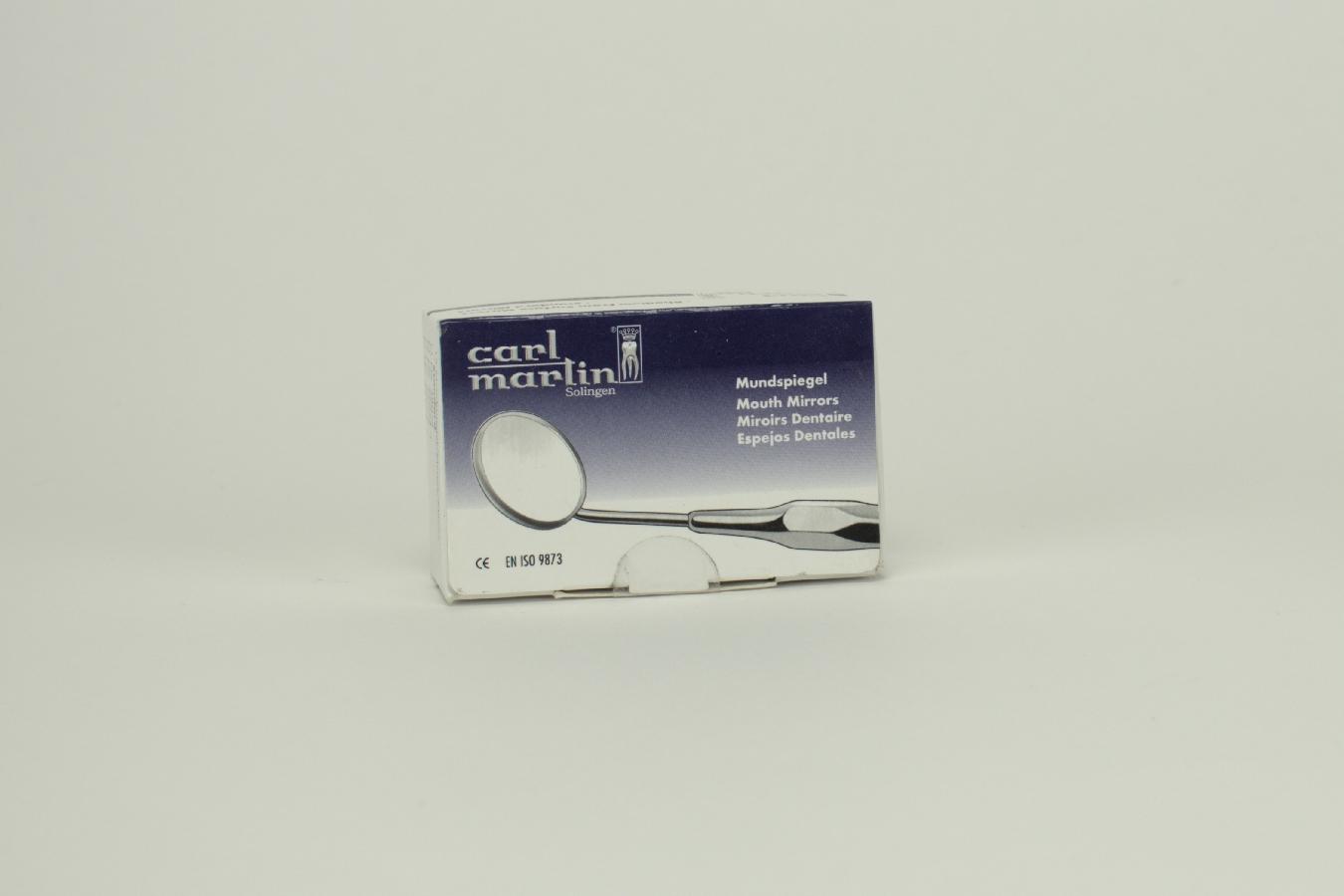 Mundspiegel Rhodium plan 22mm 478/4  Dtz